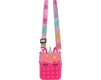 POP IT Fidget purse-Multiple colors