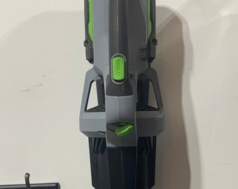 3d printed EGO 530 CFM Leaf Blower Wall Mount.