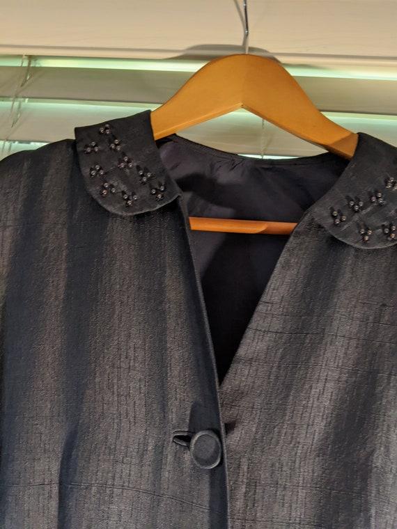 Vintage 1940's Silk 2-piece Women's Suit