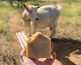 Purple Brazilian Clay & Lavender Essential Oil Goat Milk Soap 5oz
