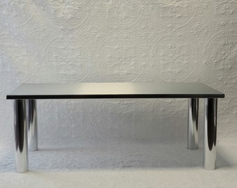 Aluminum Cocktail Table, Coffee Table, Minimalistic, Contemporary