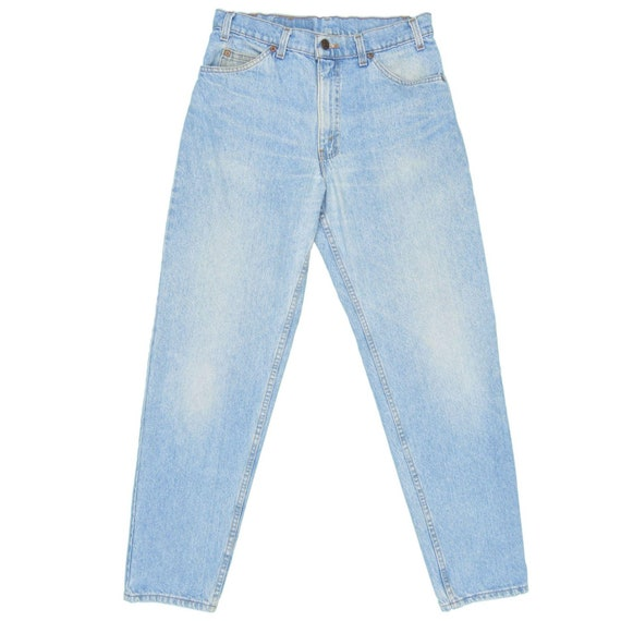 1990s Vintage Levis 550 Orange Tab Jeans 30x31