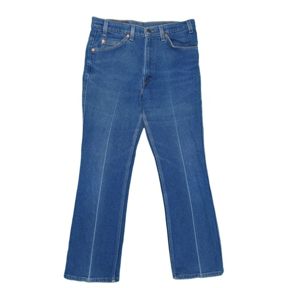 31 - 1990s Vintage Levis 517 Orange Tab Jeans 31x… - image 2