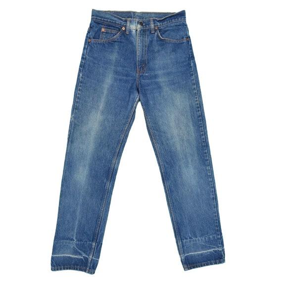 1990s Vintage Levis 505 Orange Tab Jeans 30x30 - image 2