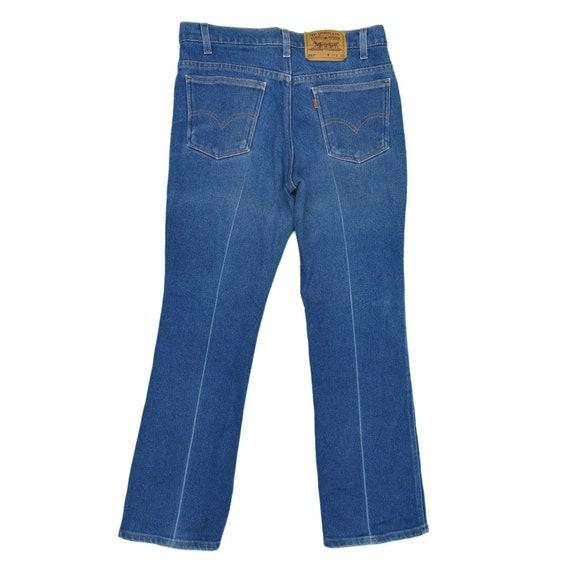 31 - 1990s Vintage Levis 517 Orange Tab Jeans 31x… - image 1