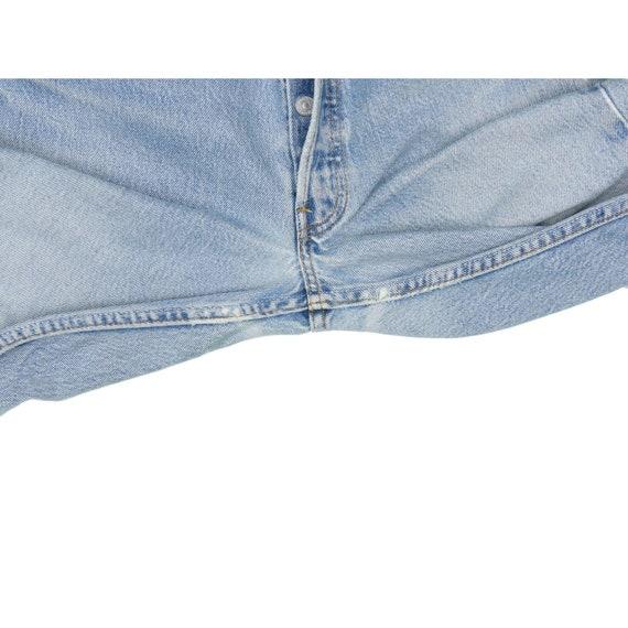 1990s Vintage Levis 501 Light Wash Jeans 30x33 - image 3