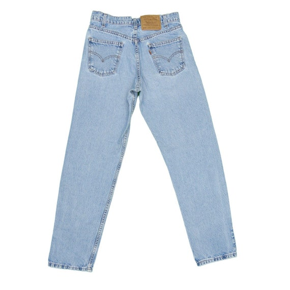 1990s Vintage Levis 550 Orange Tab Jeans 28x31 - image 1