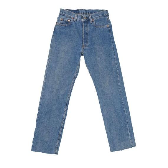 1990s Vintage Levis 501 Jeans 27x29 - image 2