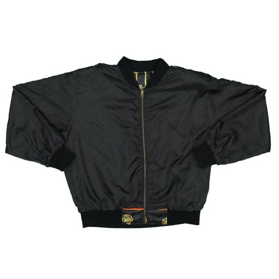 1990s Vintage Bomber Jacket Size L - image 3