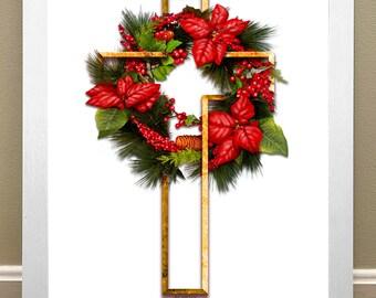 Christmas Crucifix