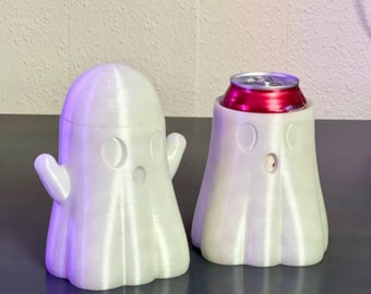 Spooky Ghost Can Holder 3D Printed