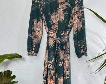 VINTAGE Kathay Fashions Dress, Made in Vancouver Canada