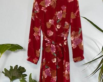 VINTAGE Marjorie Hamilton Dress, Made in Canada