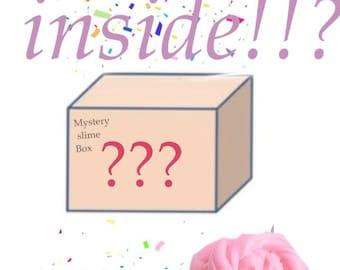Mystery slime box!!!
