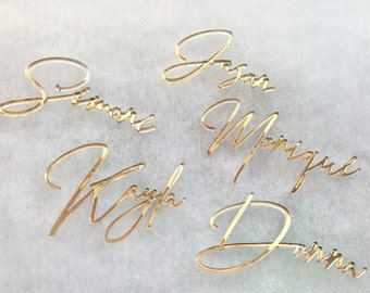 Wedding place cards laser cut names place cards for wedding table laser cut names for wedding decoration place card