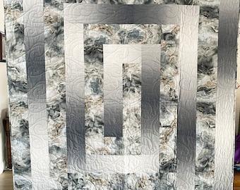 Silver Maze Quilt