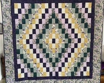 Floral Bargello Quilt