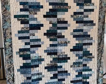 Blue Bricks Quilt