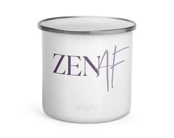 Zen AF Enamel Mug