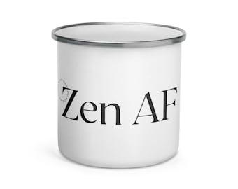 Zen AF Circle Enamel Mug
