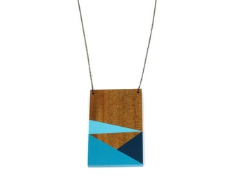 Necklace - Geometry Plate