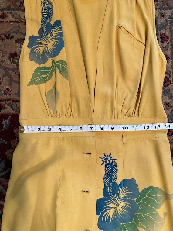 1940s Hawaiian jumper dress - image 7