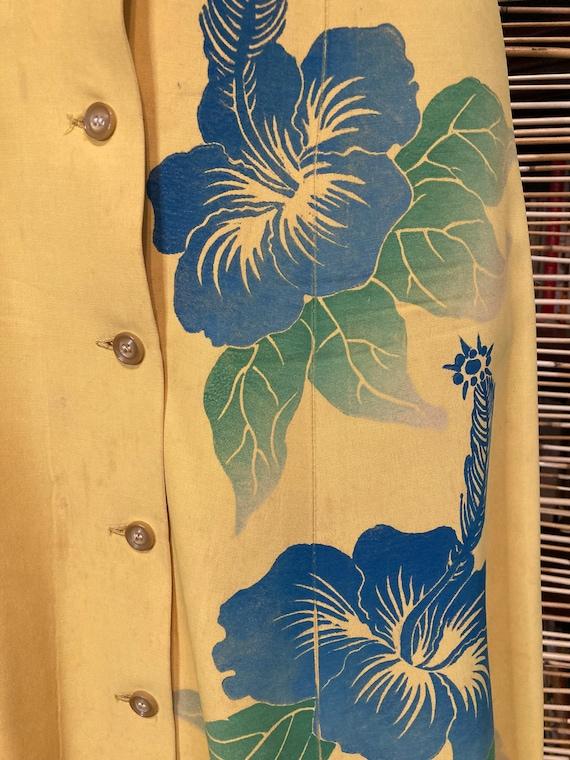 1940s Hawaiian jumper dress - image 4