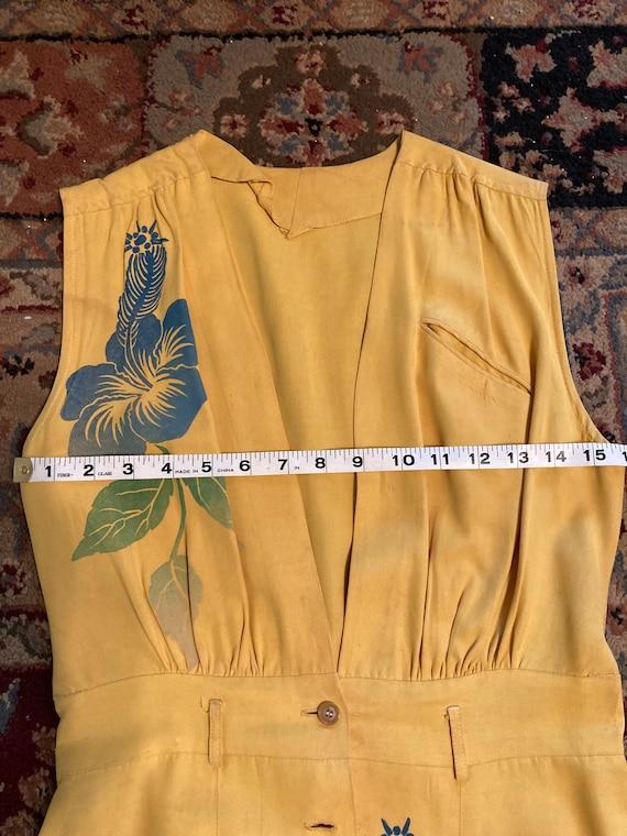 1940s Hawaiian jumper dress - image 5