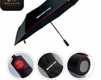 Automatic Folding Umbrella For Mercedes AMG oem
