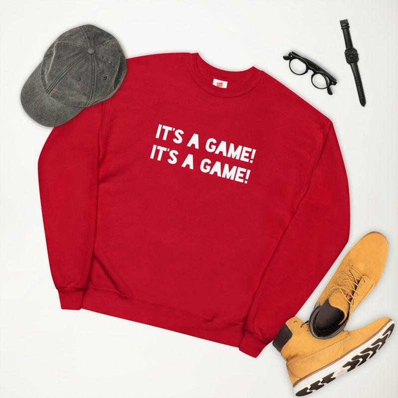 ITS A GAME Unisex fleece sweatshirt Hanes P160 image 1
