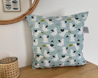 "Decorative cushion ""Dragon mint"""