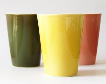 """porcelain cups """"le cap"""""""