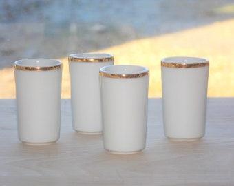 set of four alcohol glasses