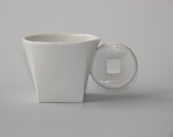 """espresso cup """"space-time"""""""