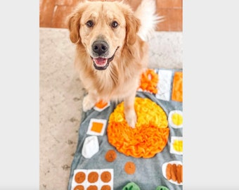 Hot pot snuffle mat Puzzle Dog Toys For Dog gift / Enrichment Toy/Reward Mat for Dogs/Feeding Mat/Dog Activity Mat