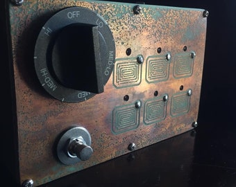 THE BURNER 001 lofi guitar noise fx pedal/drone synthesizer