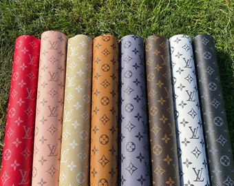 faux leather sheets lv