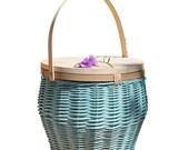 Wholesale Custom Empty Wicker Picnic Basket For 4 Person Handmade Natural Rattan Wicker Set Picnic Basket new 2021