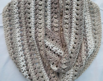 Women's Scarf, READY TO SHIP, Handmade, Crochet Scarf, Scarf, Fall Fashion, Cozy, Scarves, Warm, Infinity Scarf, Winter Scarf, Accessory