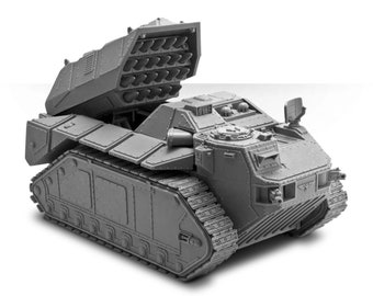 Praetor Armoured Assault Launcher - 40k Death Korps of Krieg Sci-Fi Vehicle - 28mm scale - Stl Files for 3D Printing