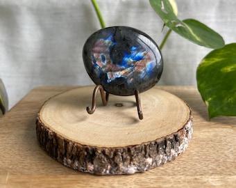Labradorite | Labradorite Palm Stone | Spectrolite | Crystal | Crystal Palm Stone