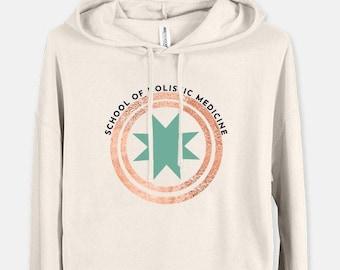 Women's Cropped Sweatshirt Indep. Trading Co AFX64CRP