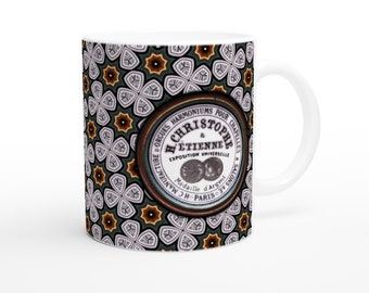 White 11oz Ceramic Mug