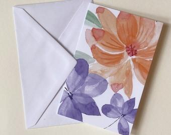 Greeting card from the edizione fiori - No. 1 incl. envelope