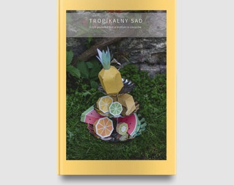 Tropical Orchard fruits | Tropical Orchard fruits templates to print and assemble | Tropical Orchard fruits digital print