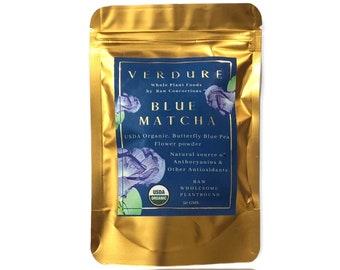 Blue Matcha  (Butterfly pea Flower Powder) USDA ORGANIC