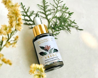 Blue Tansy, Argan & Rose  Facial Oil For Acne and Imperfections