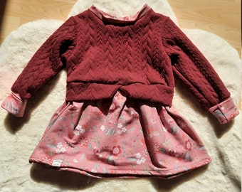 Pullover Kleid Girly Sweater