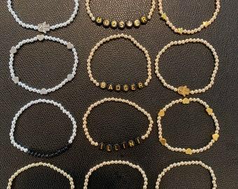Gold and silver filled bracelets