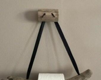 Toilet paper unwinder / Deco / Handmade